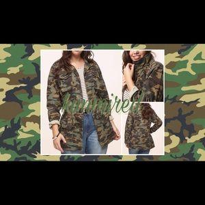 Jackets & Blazers - ✂️🆕Camo / Camouflage Anorak Jacket ~ 2X ~ NWT✂️